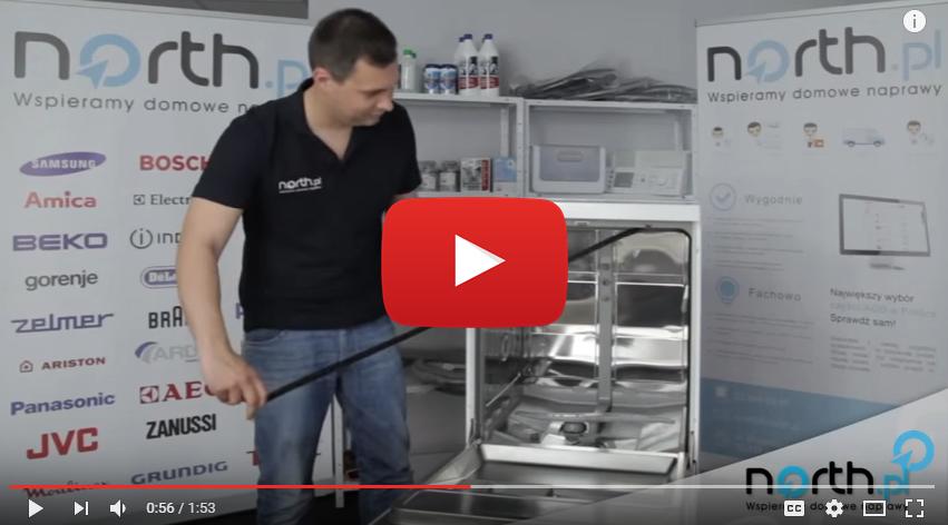 Jak wymienić uszczelkę dookoła drzwi w zmywarce?