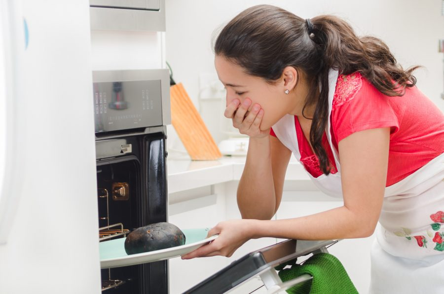 piekarnik przypala spody wypieków i ciast
