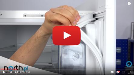 Wymiana uszczelki drzwi chłodziarki - lodówki Bosch