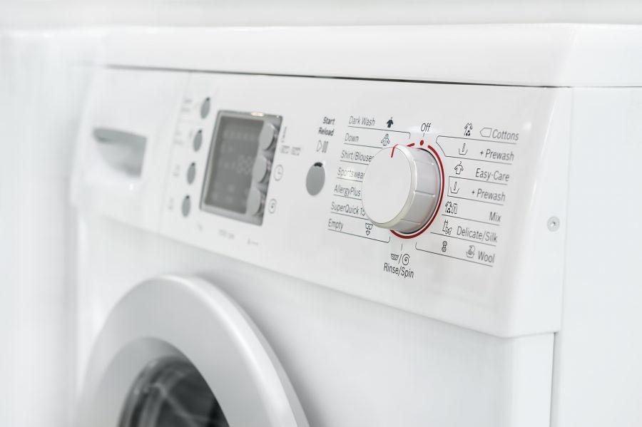 Nie świeci wyświetlacz w pralce