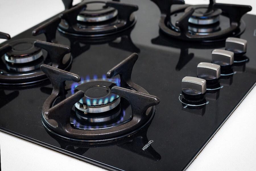 Zablokowany zawór gazu w kuchence - objawy