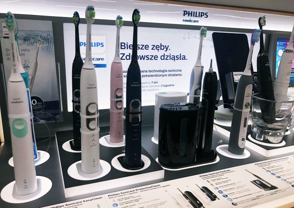 Różnica pomiędzy najtańszą szczoteczką a najdroższą Philips Sonicare