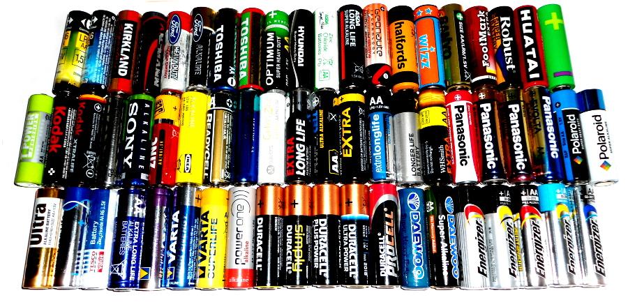 Co zrobić ze zużytymi bateriami?