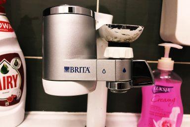 Filtr Brita do montowania na kran
