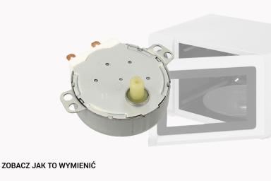 Silnik napędowy w kuchence mikrofalowej