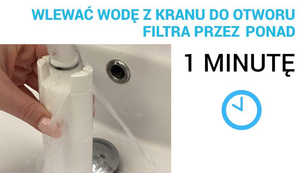 Jak wlewać wodę do filtra?