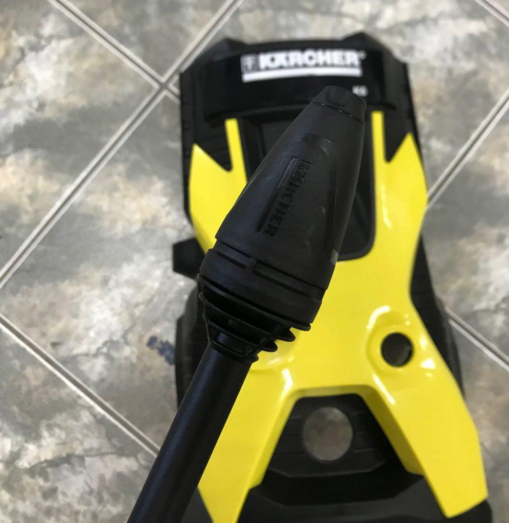 Myjka ciśnieniowa Karcher – DIY