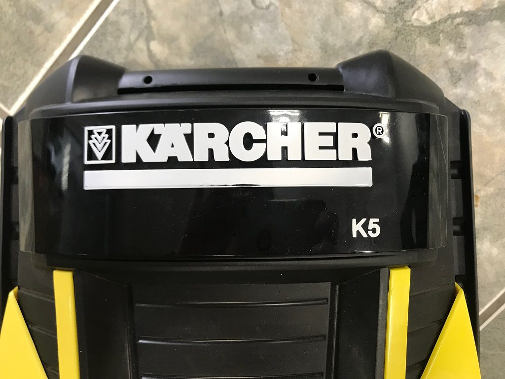 myjka cisnieniowa karcher K5 - obudowa