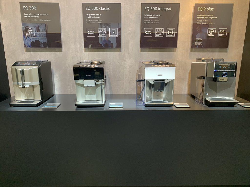 Seria ekspresów Siemens została zaprezentowana na targach IFA 2019