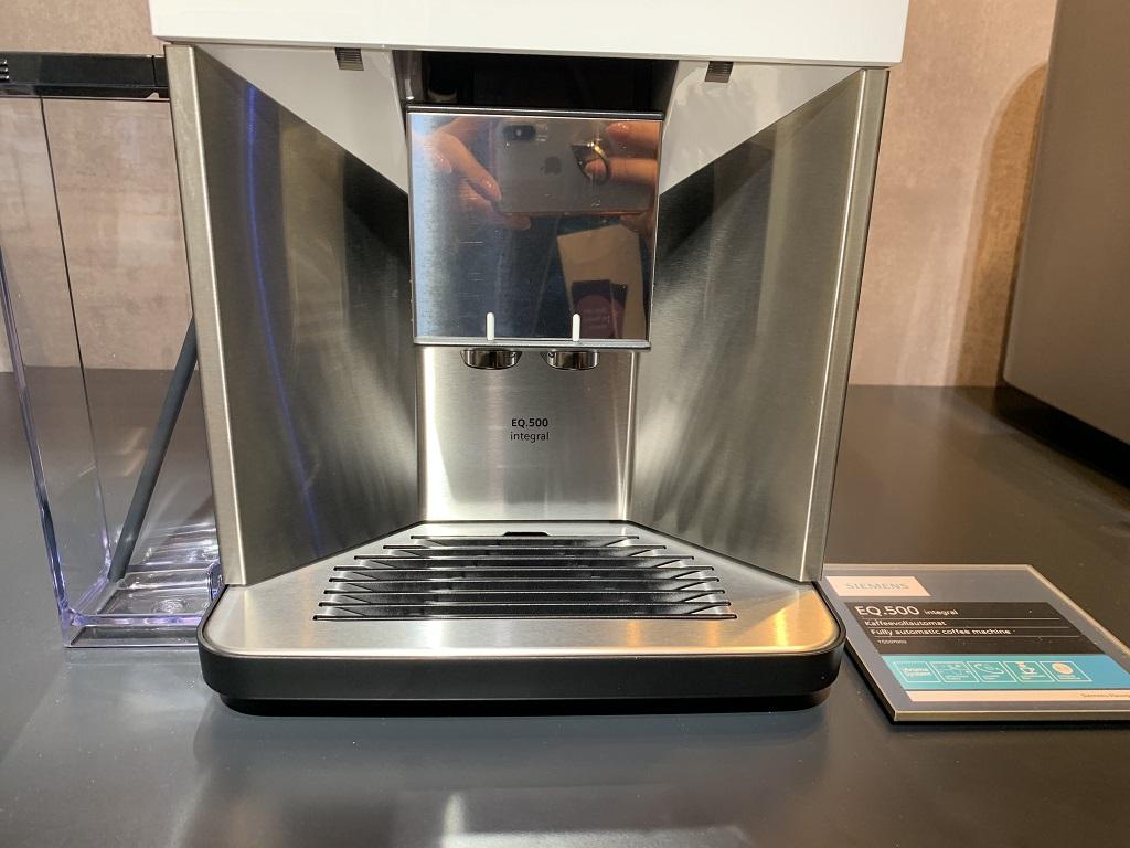 Siemens EQ.500 Interga posiada możliwość przygotowania dwóch kaw jednocześnie