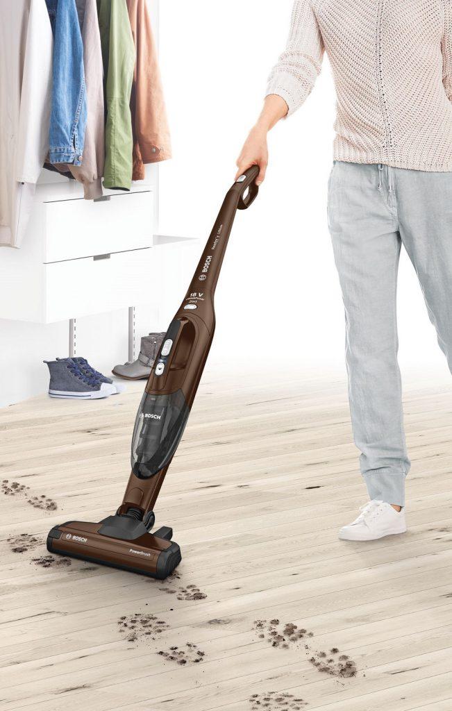 Odkurzacz Bosch BBH218LTD zapewnia świetne efekty sprzątania