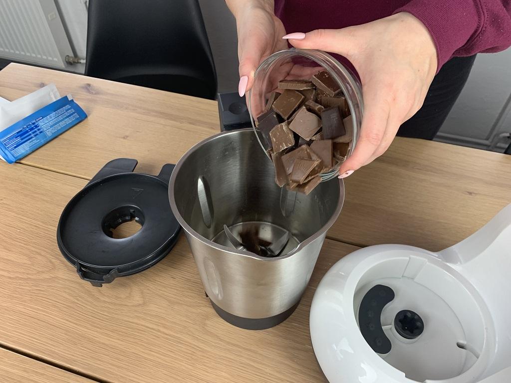 Przystępujemy do drugiej części - czekoladowej!