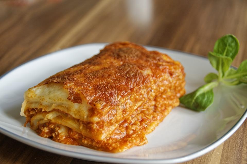 lasagne z mikrofali