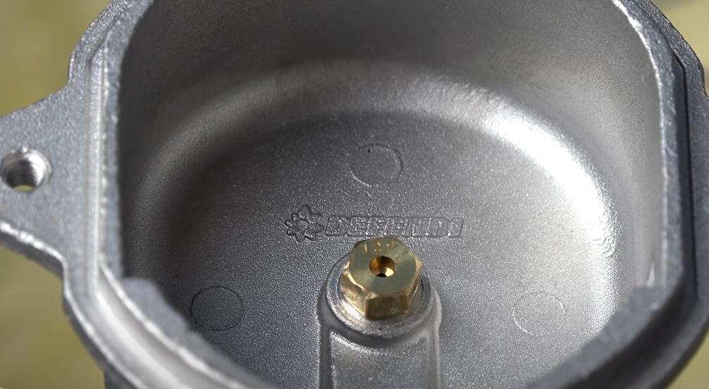 palnik gaśnie - zanieczyszczona dysza
