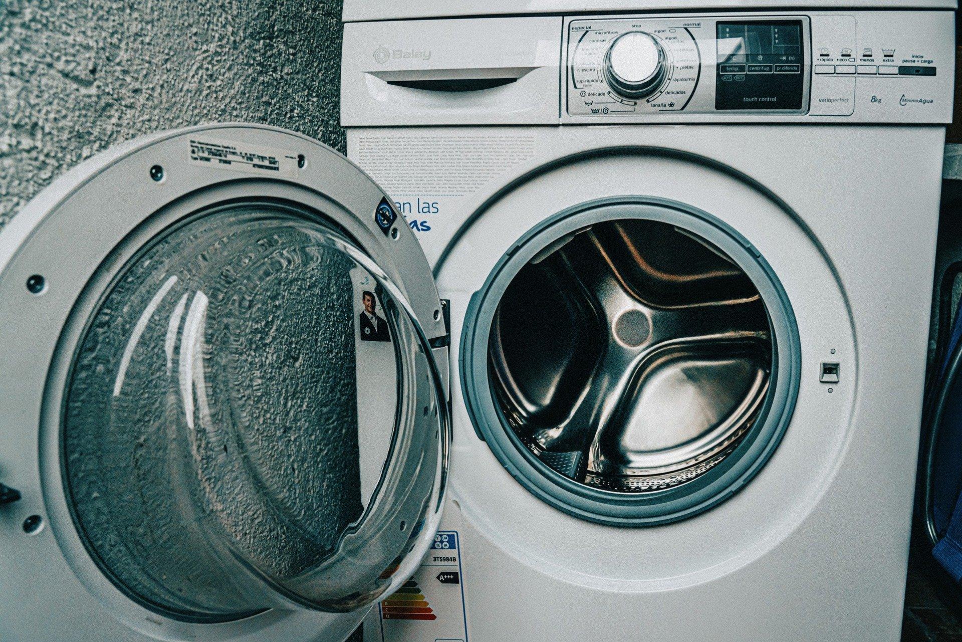Pierwsze pranie w nowej pralce
