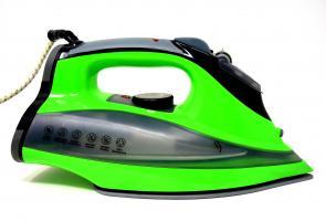 Odkamieniacz DB740217 do żelazka - zielone żelazko