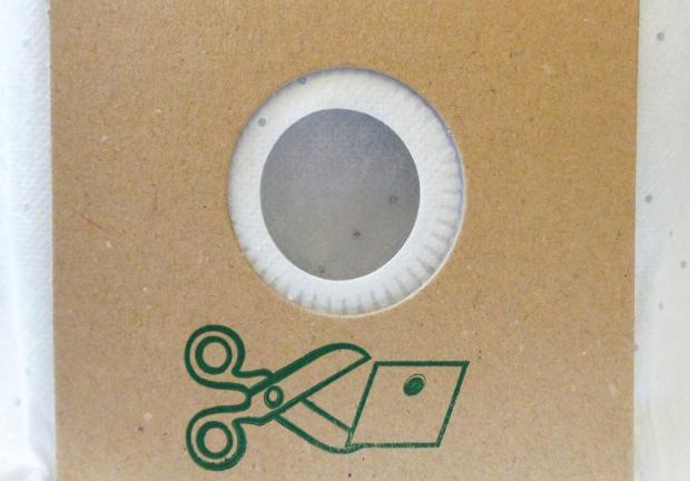 worki z papieru filtracyjnego