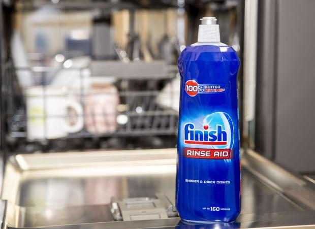 plyn do czyszczenia zmywarki Finish Shine Protect