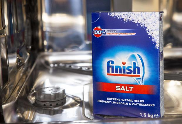 sól zmiękczająca wodę Finish