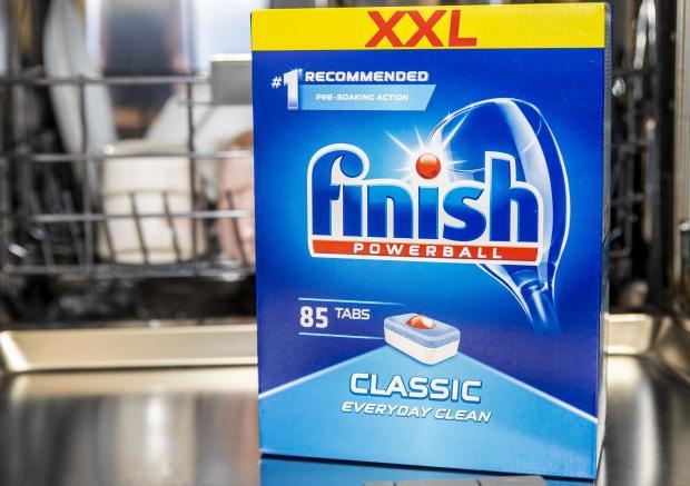 srodki finish do czyszczenia zmywarki