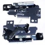 Zawiasy drzwi (lewy + prawy) - zestaw do zmywarki Zanussi (50286354001)