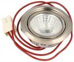 Lampa halogenowa (komplet) do okapu Zanussi (50273233002)