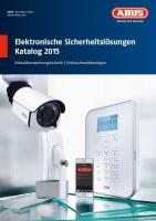 MCAT01400 KATALOG SICHERHEITSTECHNIK 2015 ABUS