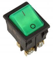 363625022 Przełącznik kołyskowy 250V 16A, seria 3636, wym. 30x22mm, zielony INTERBÄR