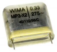 MPX21W3330FJ00MSSD 0,33UF275V MP3-X2 ENTSTÖRKONDENSATOR RM=22,5 -ROHS- 330NF WIMA