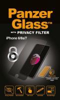P2003 DISPLAYSCHUTZGLAS FÜR NEW IPHONE 7 PRIVACY PANZERGLASS