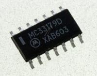 MC33179DG ic 14soic op-amp, quad, ON SEMICONDUCTOR