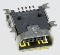 3722002236 JACK-MINI USB5P,AU30U,BLK,SMD-A,MINI US SAMSUNG