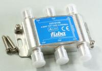 Odgałęźnik Złącze F (gniazdo x4 FUBA 22510158