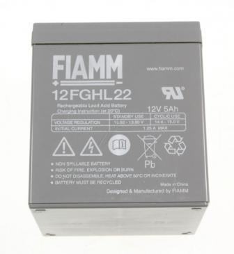 12FGHL22 12V-5000MAH BLEIAKKUMULATOR FIAMM VDS FIAMM