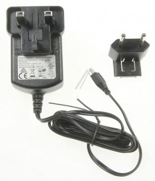T6090DV 5,1V2,5A12W STECKER-NETZTEIL EU + UK MIT MICROUSB-STECKER