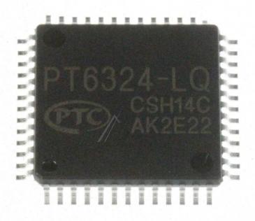 1003002194 IC-VFD:PT6324-QL,QFP,52P,14.0X14.0MM,-40 SAMSUNG