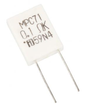 0,1R5W 0,1R-5W MPC71 BANDWID. UNBRENNNBAR 14X5MM