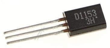 2SD1153 Tranzystor TO-92 (npn) 50V 1.5A 120MHz