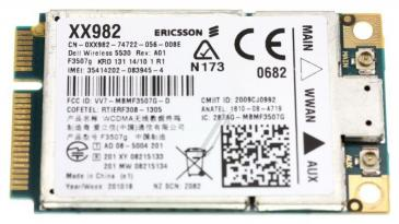 KM266 WIRELESS BROADBAND CARD DELL