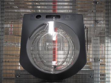Drzwi kompletne z zawiasami do pralki C00276485