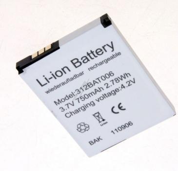 Akumulator 3.7V 700mAh telefonu bezprzewodowego 312BAT006