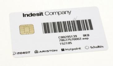 C00295139 482000032062 CARD 8KB SW78627570001 ARTICA UP N INDESIT