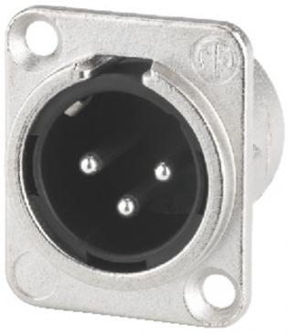 Wtyk XLR 3 PIN (wtyk NC3MDL1