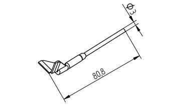 0452QDLF150SB AUSLÖTSPITZEN-SATZ ERSA