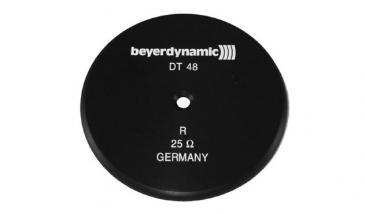 922394 DECKEL, SCHWARZ R 25 OHM BEYERDYNAMIC