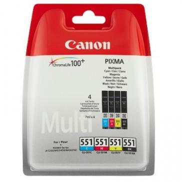Multipack | Zestaw tuszy BK,C,M,Y do drukarki 6509B009