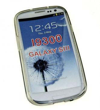 Pokrowiec | Etui transparentne do smartfona Samsung Galaxy S3 (czarne)