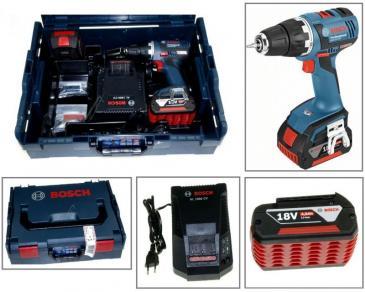 06019D6101 GSR18VEC wkrętarka akumulatorowa 18v 2x 4,0ah w walizce BOSCH