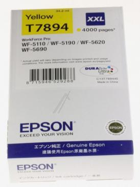 C13T789440 T789440 TINTENPATRONE, GELB, 34,2ML EPSON