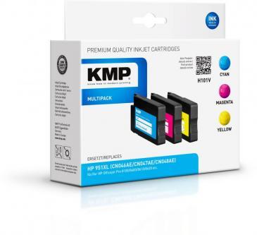 H101V 1723,4050 Multipack Zestaw tuszy C,M,Y do drukarki CR712A KMP